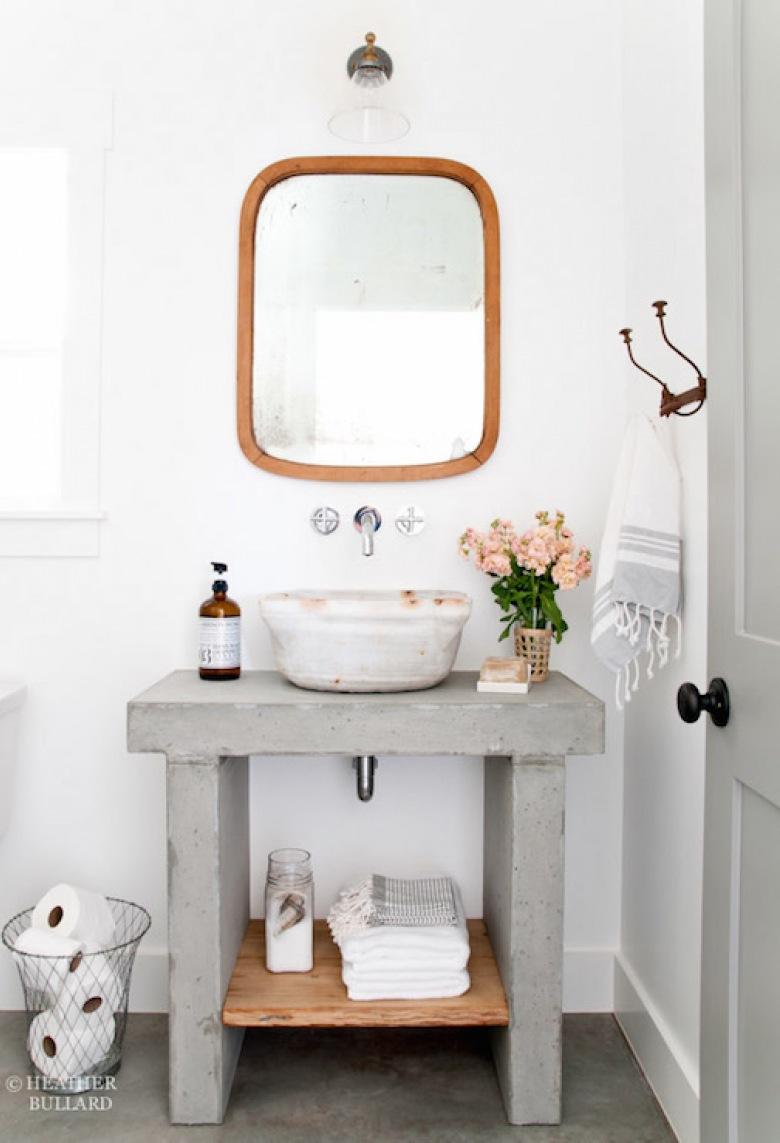 Aranżacje inspirowane naturą, czyli przykłady łazienek, w których zastosowano umywalki z kamienia!