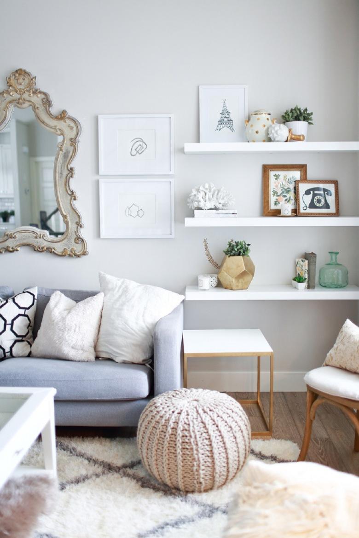 Szare sofy w aranżacji wnętrza, czyli kilka przykładów, jak ze smakiem zaaranżować elegancki salon