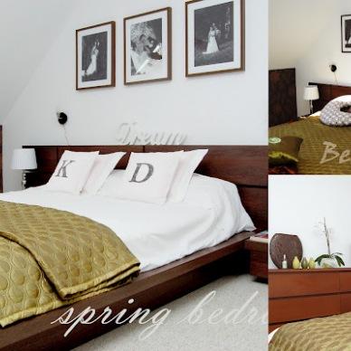 Pomysły i inspiracje na aranżacje sypialni w wykonaniu moim oraz projektanta wnętrz:)