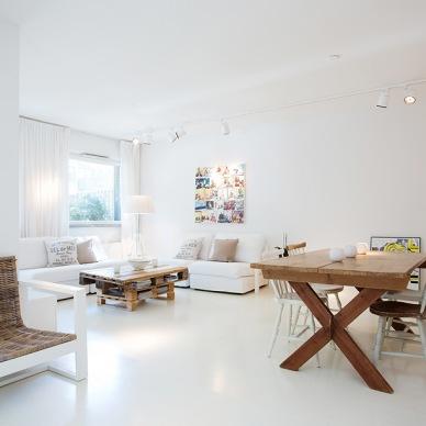 Świeżo i naturalnie, czyli pomysłowa aranżacja mieszkania z wykorzystaniem palet