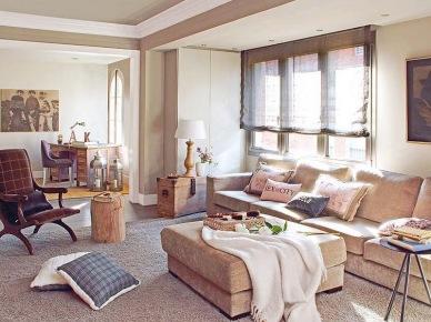 piękne, wysmakowane wnętrze - z klasą, subtelne i eleganckie. Otwarty salon na jadalnię i kącik z biurkiem prezentują się ciepło i...