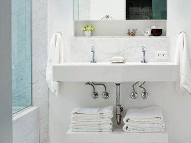Miejsce na ręczniki w łazience (16315)
