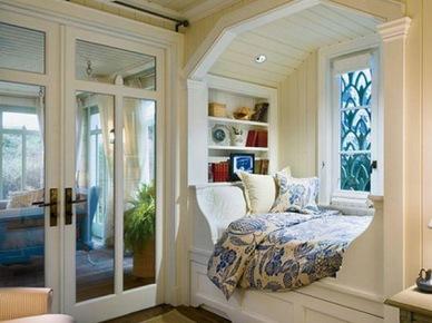 Łóżko we wnęce (3833)