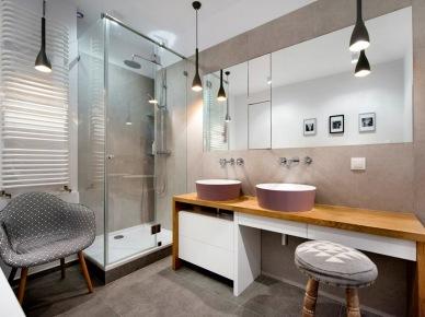 Aranżacja łazienki w szarym kolorze (47883)