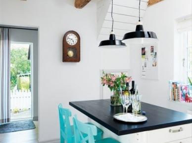 11 inspirujących pomysłów na krzesła barowe w kuchni – aranżacje wnętrz z wyspami kuchennymi | Lovingit (15606)