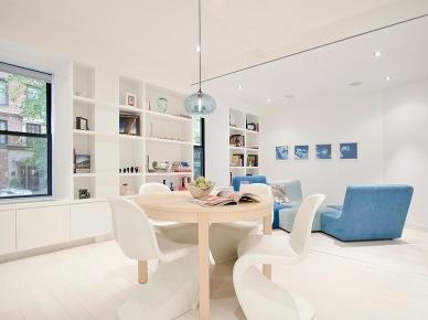 Biało-niebieski minimalizm (11911)