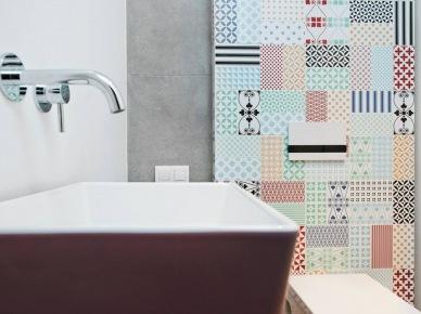 Wzorzyste motywy w łazience (47884)