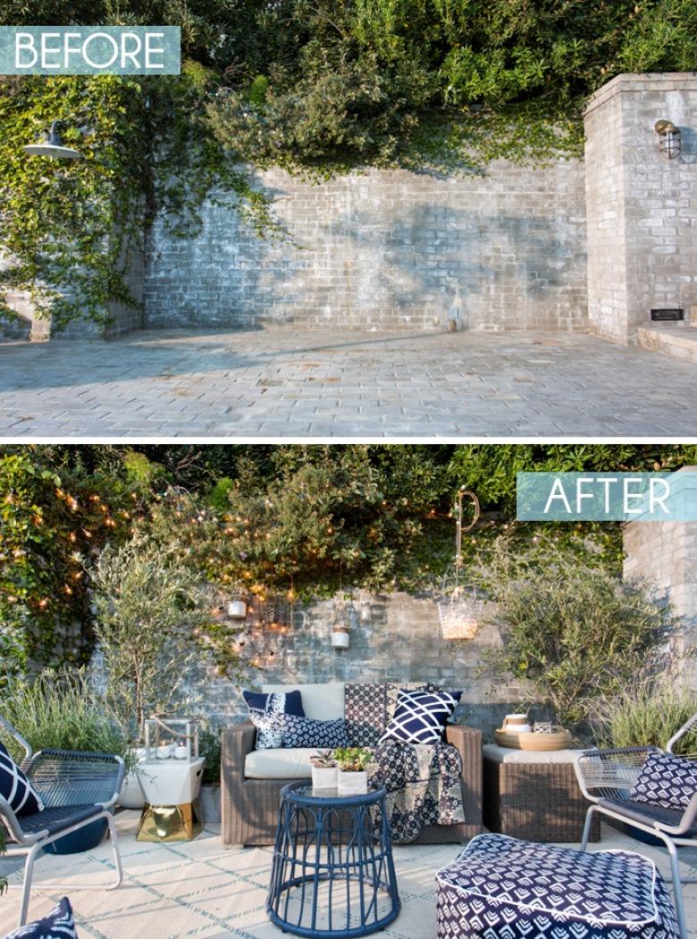 Piękne before &after werandy, czyli zachwycająca ogrodowa inspiracja na wiosnę i lato - dla każdego! :) (39548)
