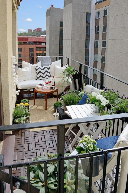 Wiosenne porady Lovingit, czyli jak najlepiej wykorzystać przestrzeń na naprawdę małym balkonie :) (43655)