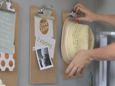 Clibboardy jako dekoracja ściany (50099)