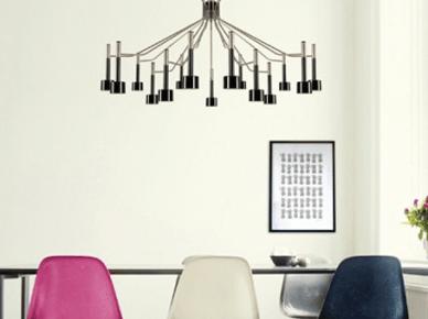 Wiszące, duże lampy (9803)