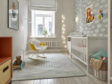 po raz kolejny świetny projekt dwupokojowego mieszkania urządzony w stylu skandynawskim - skandynawska wirtuozeria autorstwa studia