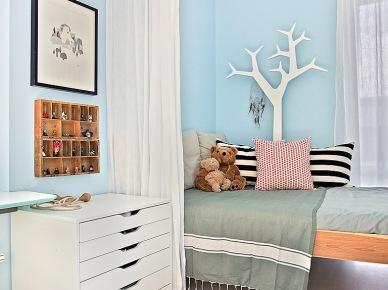 Jak urządzić pokój dziecięcy z niebieskimi ścianami ? (23407)