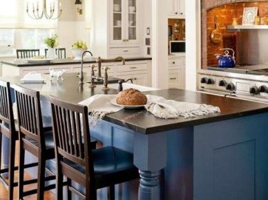 11 inspirujących pomysłów na krzesła barowe w kuchni – aranżacje wnętrz z wyspami kuchennymi | Lovingit (15605)