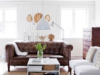 Salon w rustykalnym stylu (6546)