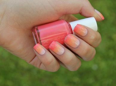 Do it yourself! Szybki i prosty przepis na cieniowane paznokcie :))Czyli jak zrobić ombre nails:)