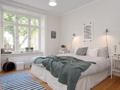 23 inspirujące pomysły na zaaranżowanie małej sypialni :)