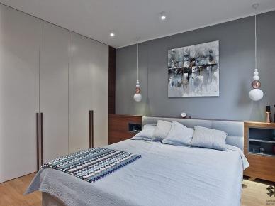 Aranżacja sypialni w nowoczesnym stylu (49068)
