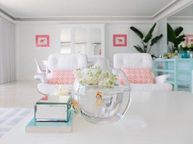 Coś dobrego na letni deser: pastelowe wnętrze pełne świeżości!:)