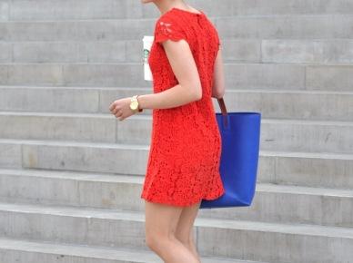 Kasia Tusk w czerwonej sukience (14587)