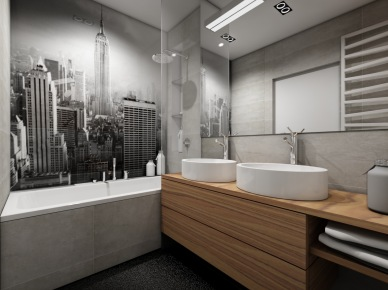 Mała łazienka, to duże wyzwańjie ! jak ją urządzić ? gdzie zmieścić pralkę w małej łazience, wybrać małą wannę czy brodzik z natryskiem i wiele innych pytań, które nurtują posiadaczy małych łazienek. Dzisiaj przedstawiam parę inspirujących pomysłów, które pokazują, jak urządzić pięknie i funkcjonalnie małą łazienkę. Ja jestem zachwycona projektami Studio  Mikołajska – stąd gratuluję i kłaniam się nisko  - popatrzcie, jakie to wspaniałe, estetyczne i na topie aranżacje – są wg mnie znakomite...