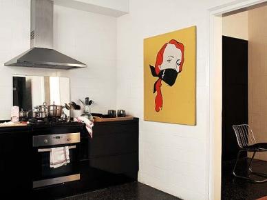 Biało-czarny apartament w barcelonie (9201)