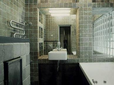 Metaliczny apartament. (7654)