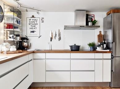 Tag bia a kuchnia - Cocinas con muebles blancos ...