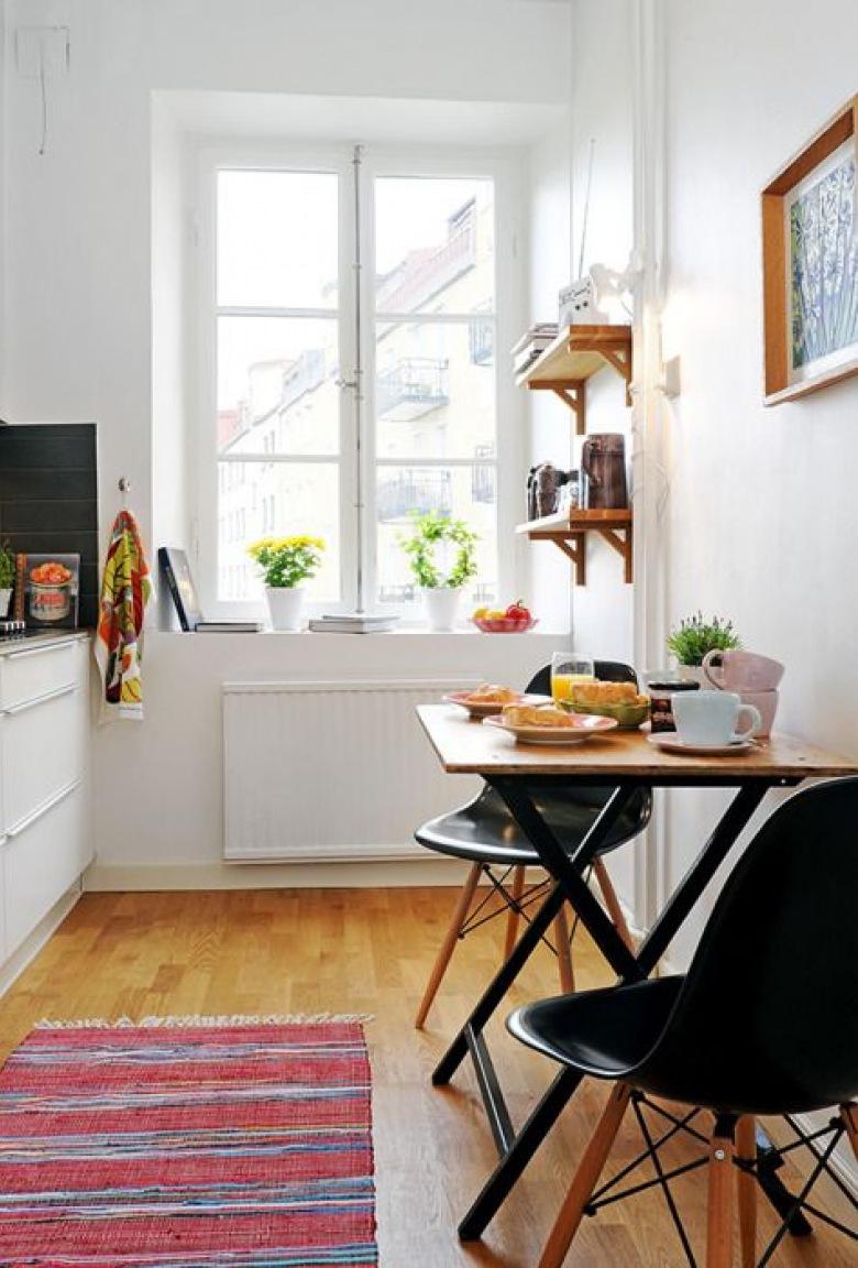 Идеи стола для маленькой кухни фото