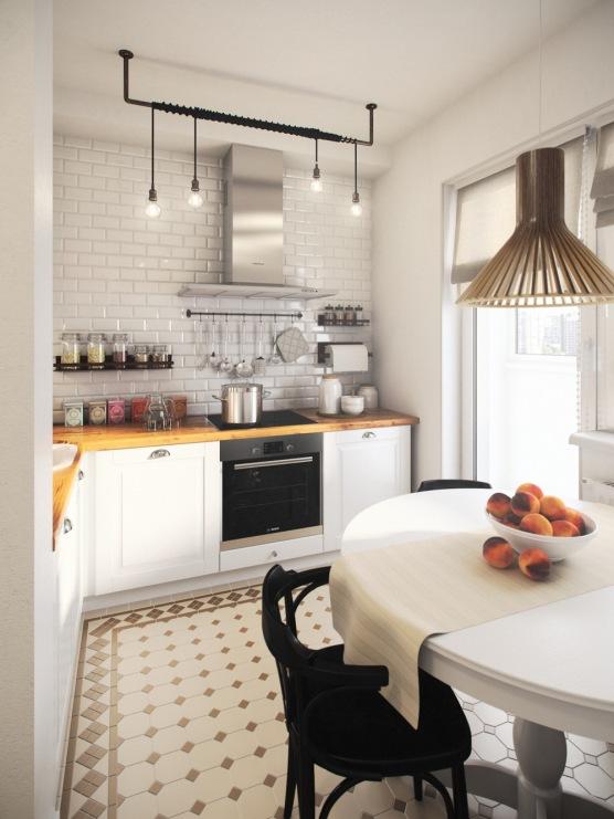 Jak Urzadzic Male Mieszkanie Lub Kawalerke Z Osobna Kuchnia W Eklektycznym Stylu