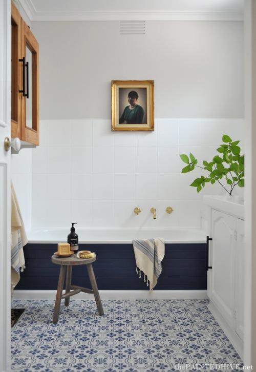 Niezwykły pomysł na aranżację pokoju kąpielowego we własnym mieszkaniu, czyli before & after łazienki :)