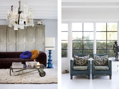 Vintage and Ethnic house by designer and interior Marie Olsson (5390)