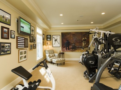 Home Gym Design, Pictures, Remodel, Decor and Ideas (139)