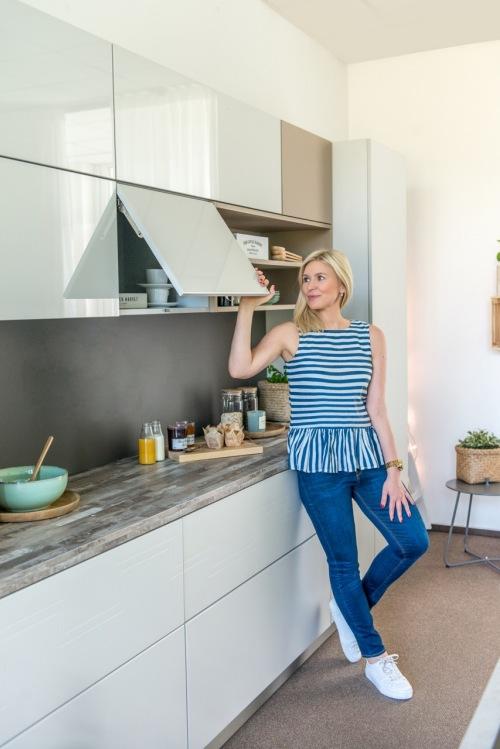 Before & after kuchni tylko dzięki stylizacji i frontom, po których można pisać! Oh yes!