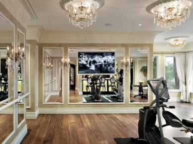 Home Gym Design, Pictures, Remodel, Decor and Ideas (145)