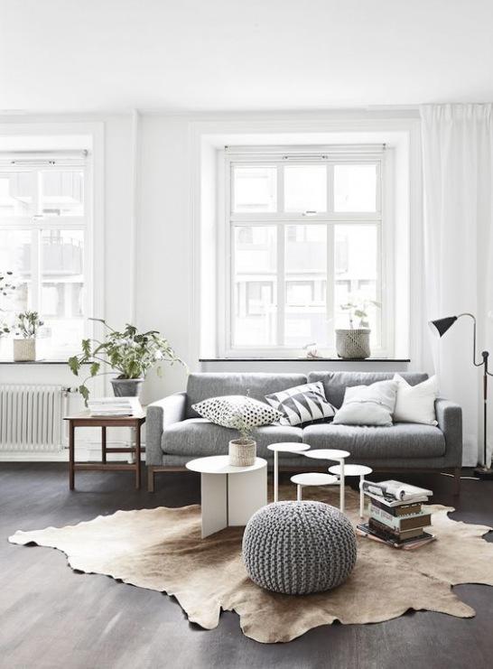 Jak dobrać dywan do skandynawskiego wnętrza?