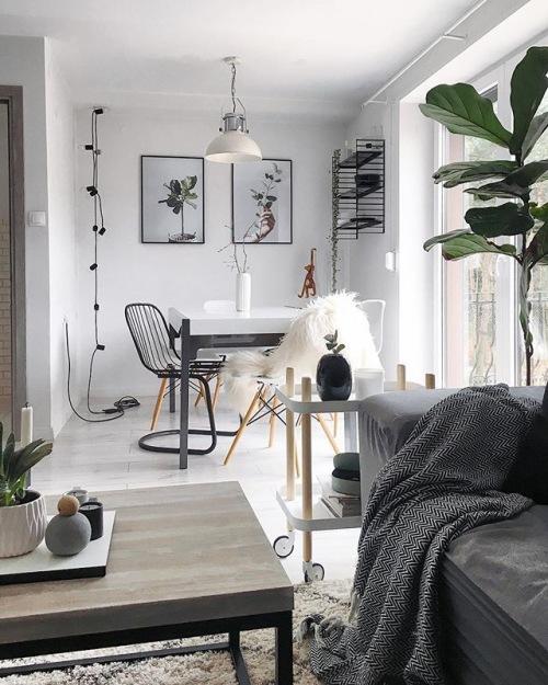 Inspirujący pomysł na aranżację mieszkania na poddaszu prosto z Polski!