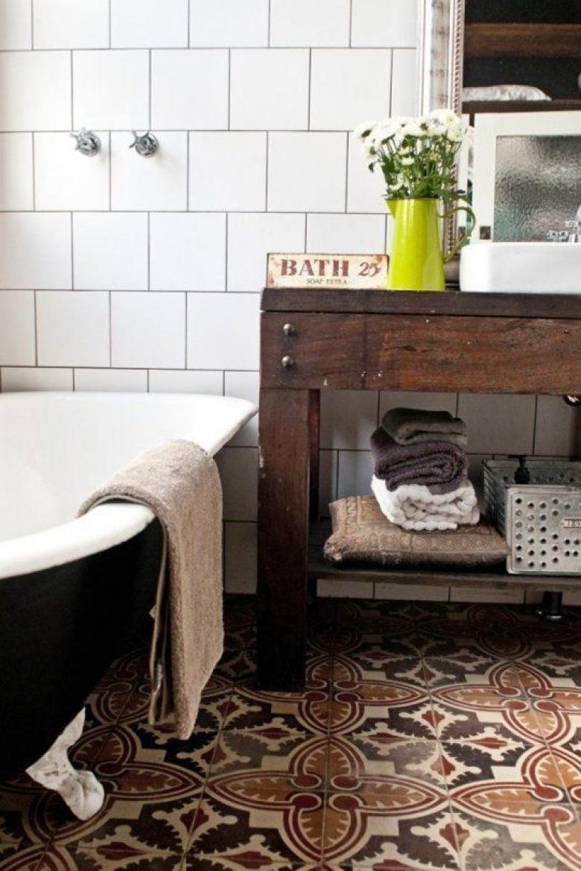 Styl Rustykalny łazienka Inspiracje Lovingitpl