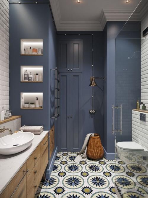 7 projektów łazienek, które mnie oczarowały w 2018 roku;)