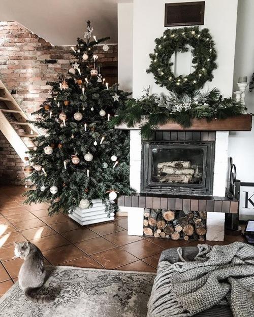 Piękna świąteczna aranżacja mieszkania, czyli inspiracje z Instagrama!
