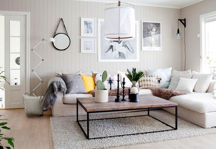 Aranżacja z pazurem. Mieszkanie w stylu skandynawskim z industrialnymi akcentami
