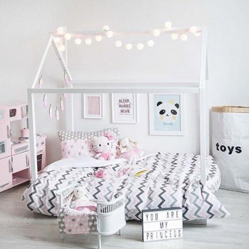 Pomysły na pastelową aranżację pokoiku dla dziewczynki