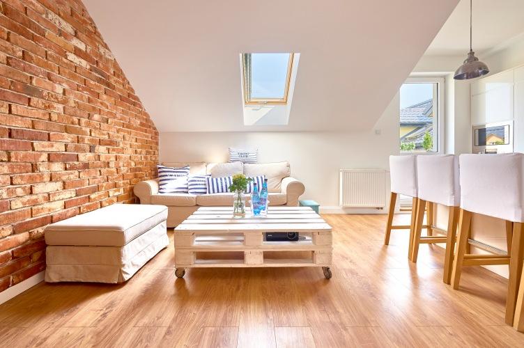 Aranżacja przytulnego mieszkania na poddaszu o pow. 46 m2 od naszej czytelniczki :)