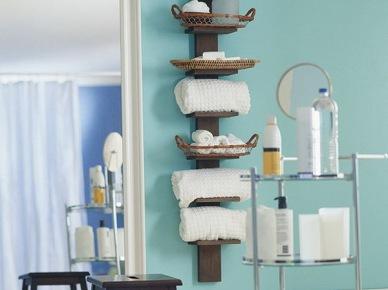 Miejsce Na Ręczniki W łazience Zdjęcie W Serwisie Lovingit