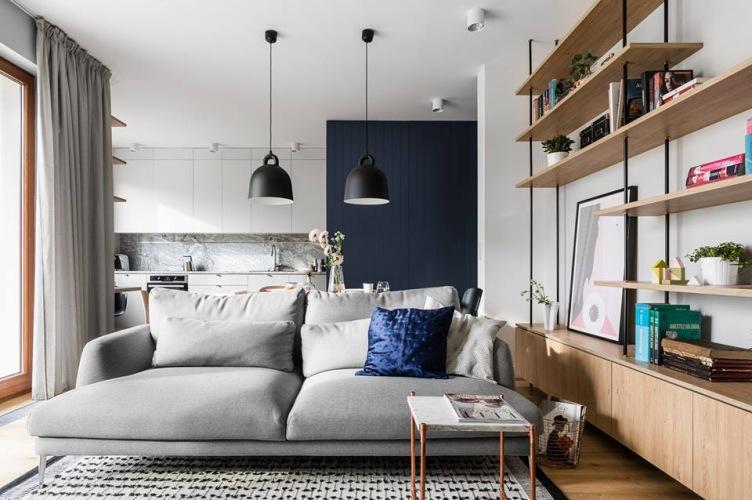Piękne mieszkanie w stylowej aranżacji z polskiej pracowni architektonicznej :)