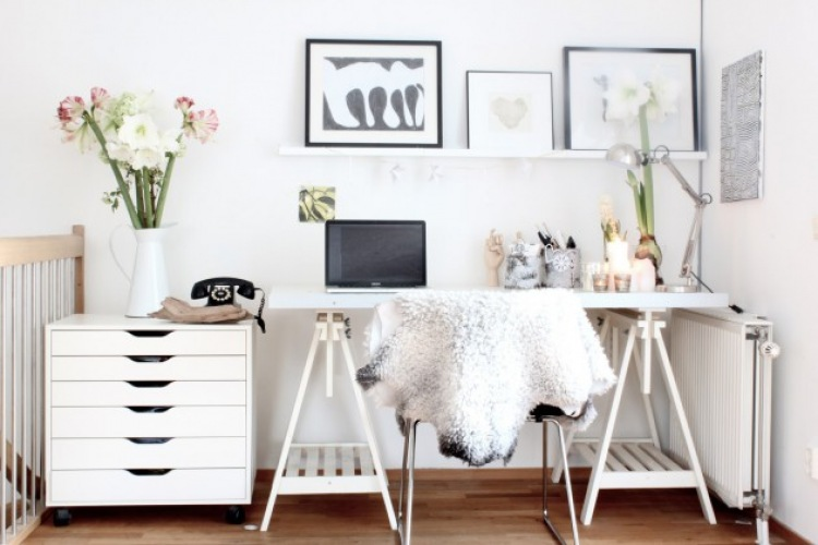 6 złotych zasad: Jak urządzić home office w stylu scandi?