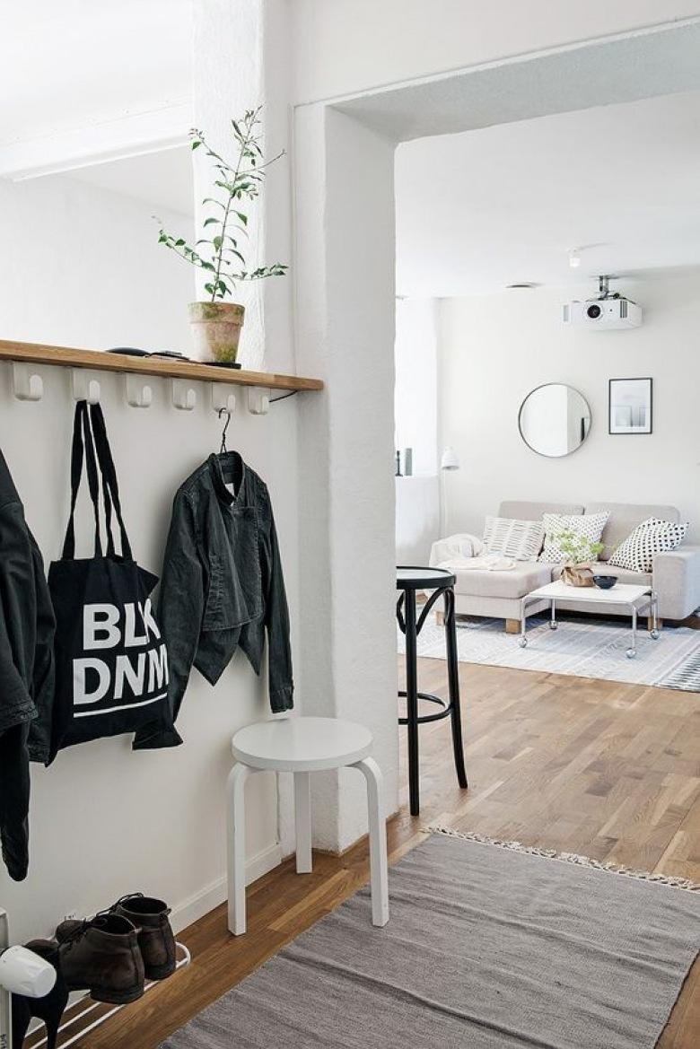 Styl skandynawski przedpok j inspiracje for Entradas de pisos