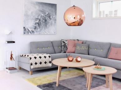 Tag bialo czarny salon w stylu skandynawskim z for Decoracion de interiores 2016