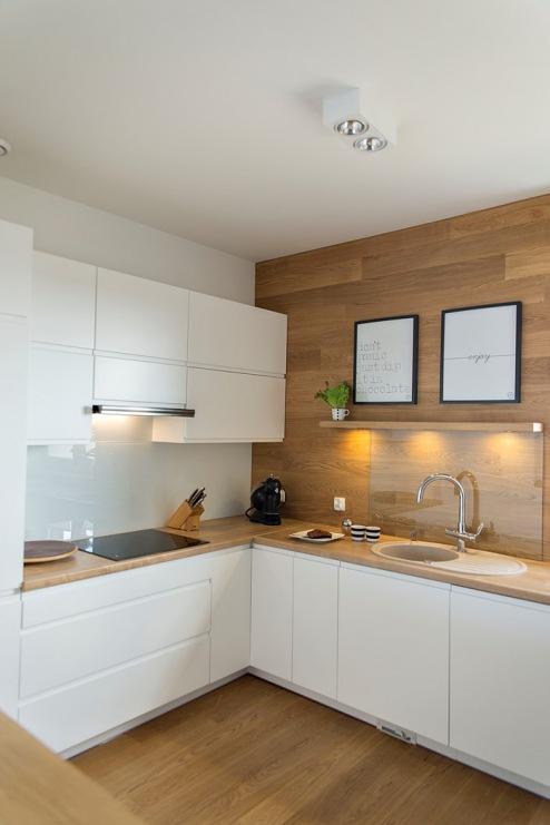 Jak zaaranżować mieszkanie w stylu skandynawskim? -> Drewniana Kuchnia Gourmet World