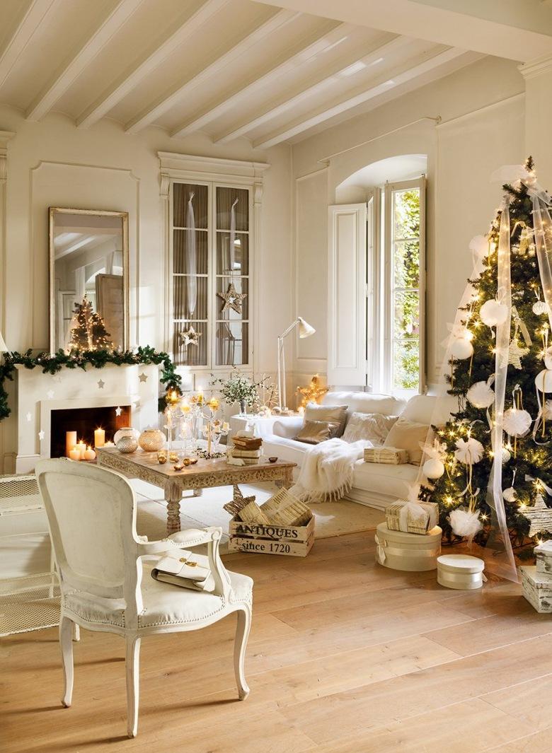 Styl prowansalski pok j kominkowy inspiracje - El mueble decoracion ...